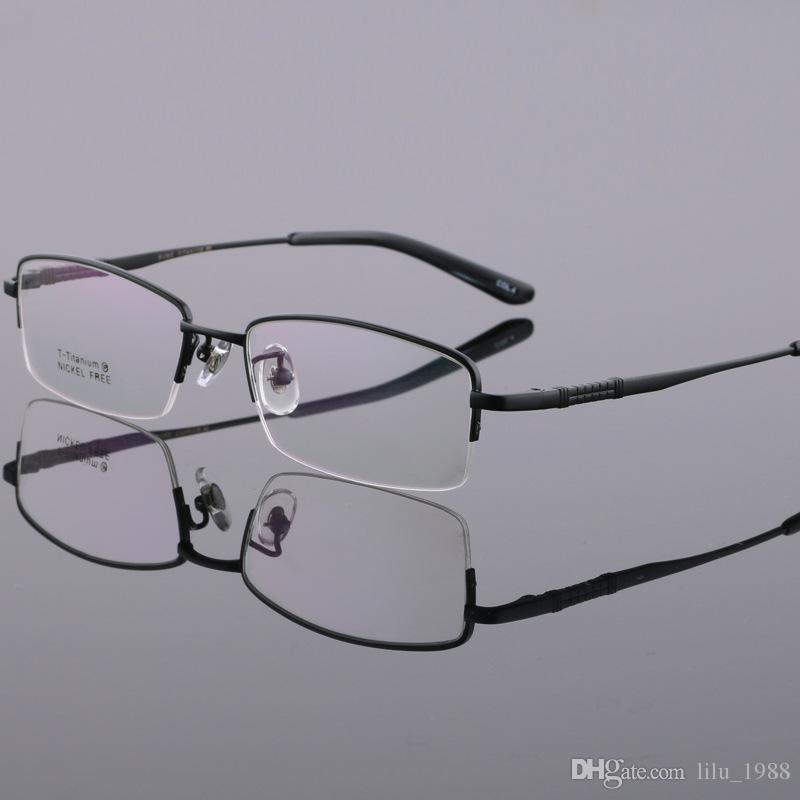 Großhandel Männer Designer Brillenfassungen Titan Brillenfassungen ...
