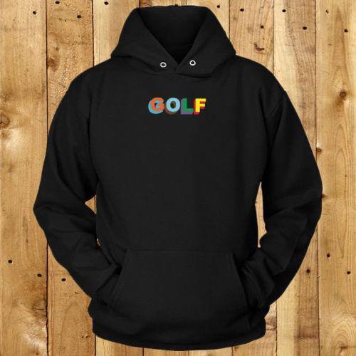 Großhandel Color 3d Golf Wang Logo Der Schwarze Hoodie Der Männer ... 4cb8aba47d