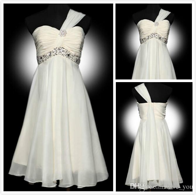 Cheap Purple Bridesmaid Dresses Under $50 | Purple Cheap Under 50 Ruched A Line One Shoulder Strapless Knee