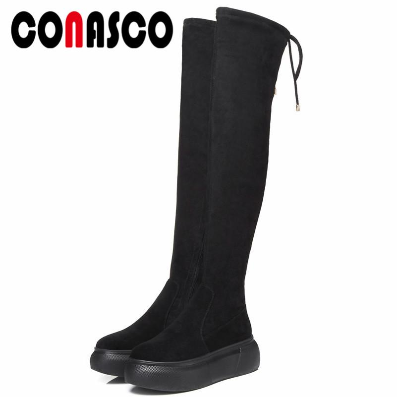 Mujeres Night Club Party High Sexy Tight Compre Conasco Punk Shoes fwq6YFt