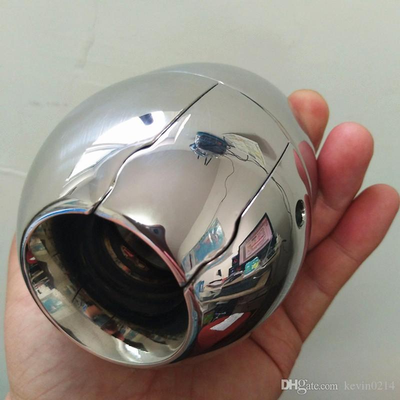 Nuevo diseño pesado escroto colgante acero inoxidable anillo de retención de testículo pene colgante juguetes sexuales para hombres B2-2-163
