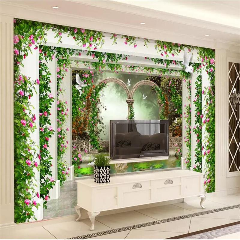 Beibehang Wallpaper Custom Living Room Bedroom Wallpaper Mural Paper