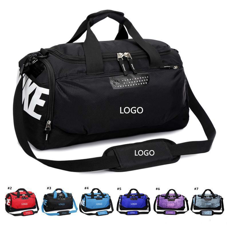 f69718ada Waterproof Oxford Gym Yoga Luggage Messenger Bags Sports Training Shoe Bags  Basketball Football Bag Handbags Outdoor Travel Duffel Bag Tote Toiletry  Bags ...
