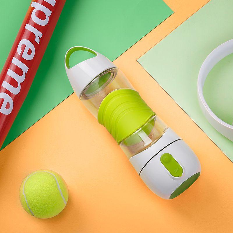 Copa de reabastecimiento de agua deportiva Luz LED Pistas inteligentes de botellas de agua Pistas de ingesta de agua Recuerda que te quedas Luces nocturnas Sos Taza de taza de emergencia US2