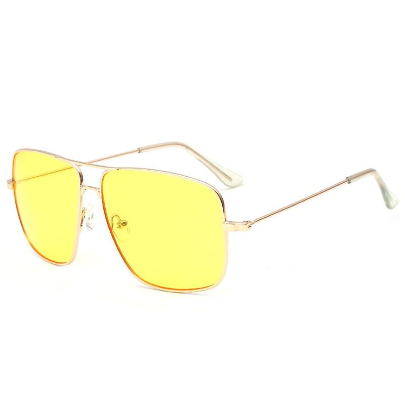 dd5cb82b7338 Danbihuabi Square Sunglasses Men Metal Gold Retro Sun Glasses Women ...
