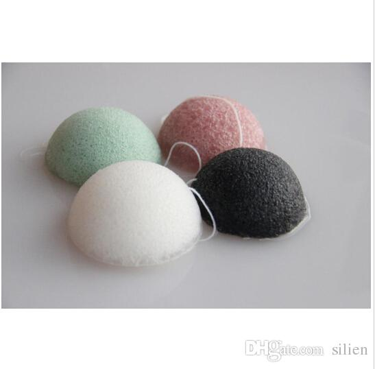 Wash Natural Active Plant Konjac Cleansing Cotton Bamboo Charcoal Facial Puff Face Wash Cleaning Flapping Amorphophallus Konjac Wet Sponge