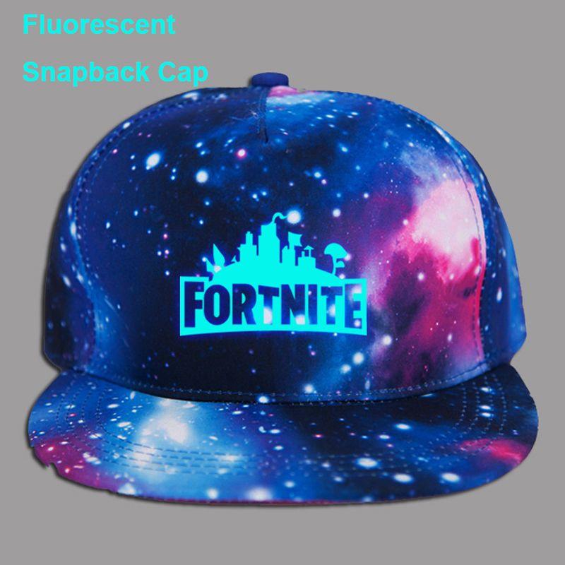 2018 Summer Neon Fluorescent Hiphop Fortnite Games Galaxy Printed Fashion  Snapback Dad Hat Women Men Adjustable Baseball Caps Baseball Caps For Men  Mesh ... 42c826f2deda