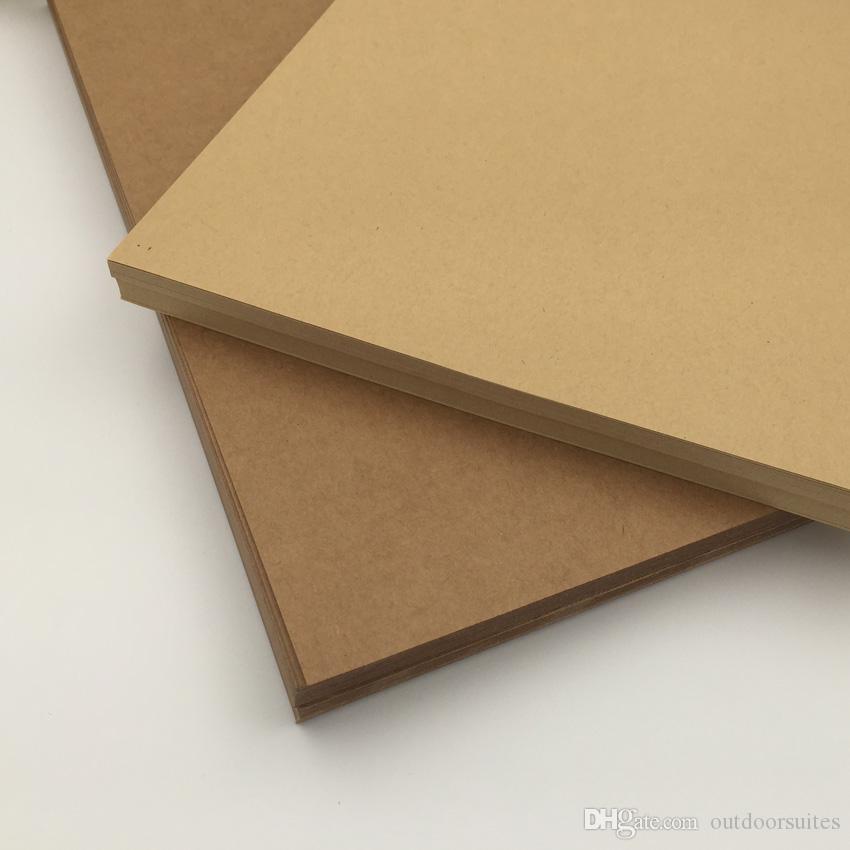 brown a4 kraft paper paperboard cardboard blank craft card paper