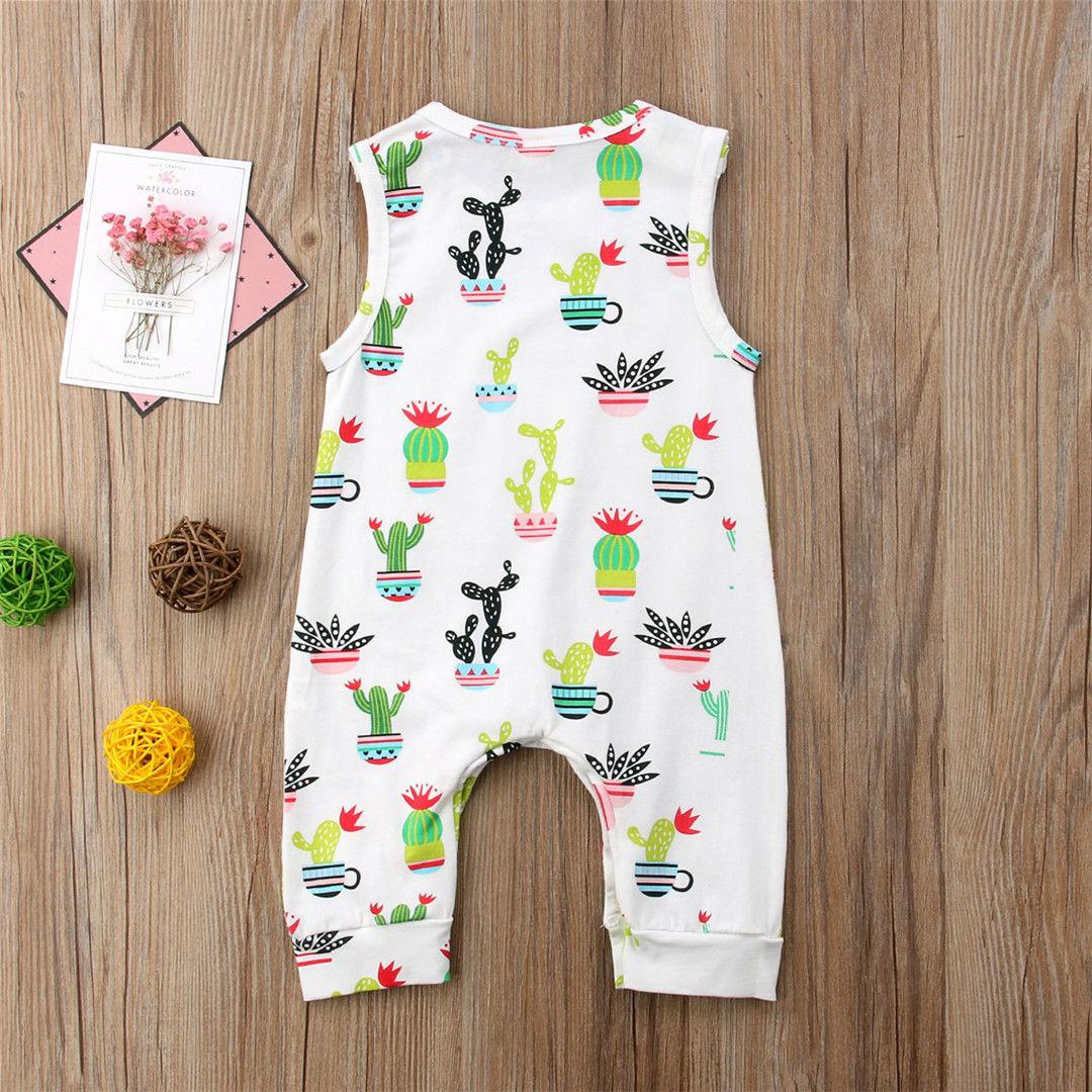 bedda36c1441 2019 Toddler Baby Boys Girls Floral Romper Kids Clothing Infant Bodysuit  Summer Vest Jumpsuit Outfits Playsuit Kidswear From Formore