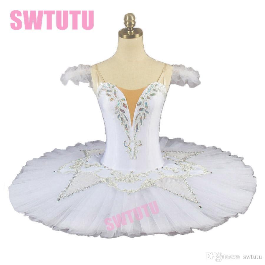 1e794ddef305f2 Acheter Hiver Neige Blanche Reine Classique Ballet Tutu Robe Femmes ...