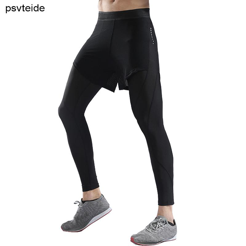febc7b57d710a2 2019 Sports Compression Pants Leggings For Men Compression Mens Leggings  Slim Baselayer Cool Dry Sports Tights Trouser Running Hombre From Booket,  ...