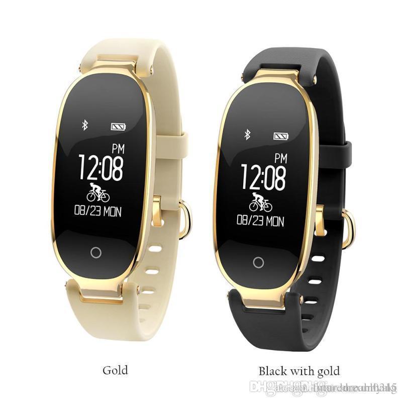 2018 S3 Bluetooth Smart Watch Fashion Women Ladies Heart ...
