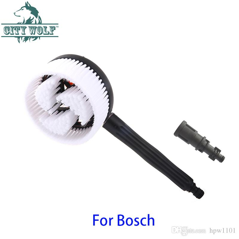 2019 City Wolf Car Washer Rotatable Circular Brush Connect With