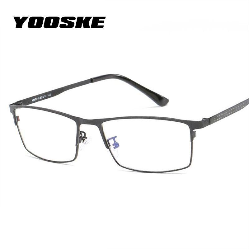 2018 Yooske Blue Light Filter Glasses Frame Men Computer Gaming ...