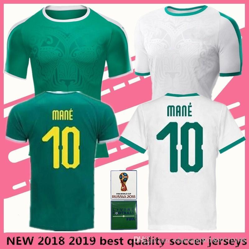 2019 Senegal Sénégal Soccer Jersey MANE Football Uniform 2018 World Cup  Baldé KOULIBALY Home Away Maillot Size S 2XL From Whatsapp861860310148 ba79ffb6d