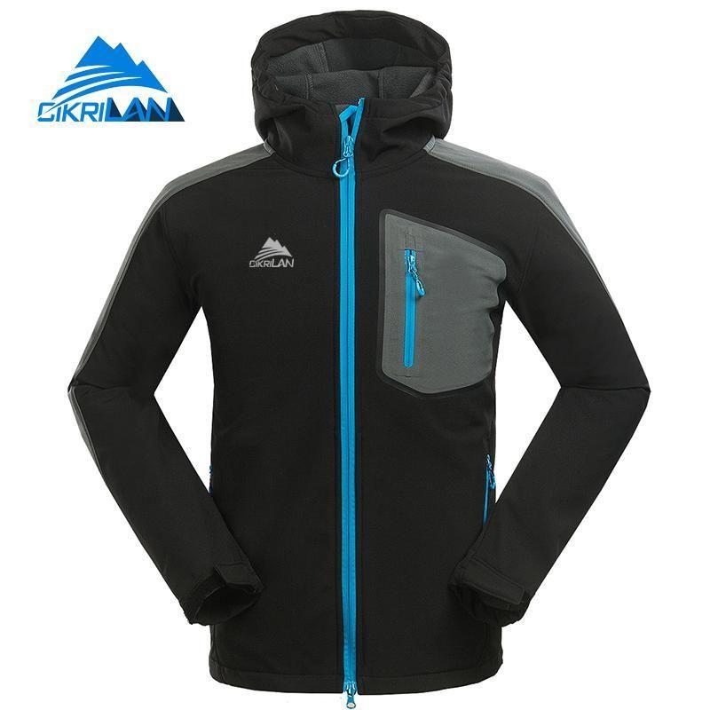 8be2c891ad742 Cikrilan New Outdoor Hiking Camping Softshell Jacket Men Waterproof  Windbreaker Coat Ski Cycling Fleece Liner Jaqueta Masculino Online with  $52.83/Piece on ...