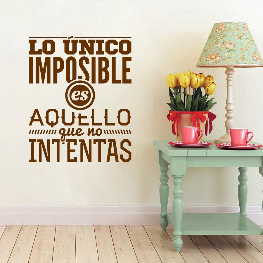 Merveilleux Spanish Inspirational Quotes Wall Decals Vinyl Wall Sticker Art Mural For Living  Room Home Decor House Decoration Wall Sticker Quotes Wall Stickers From ...
