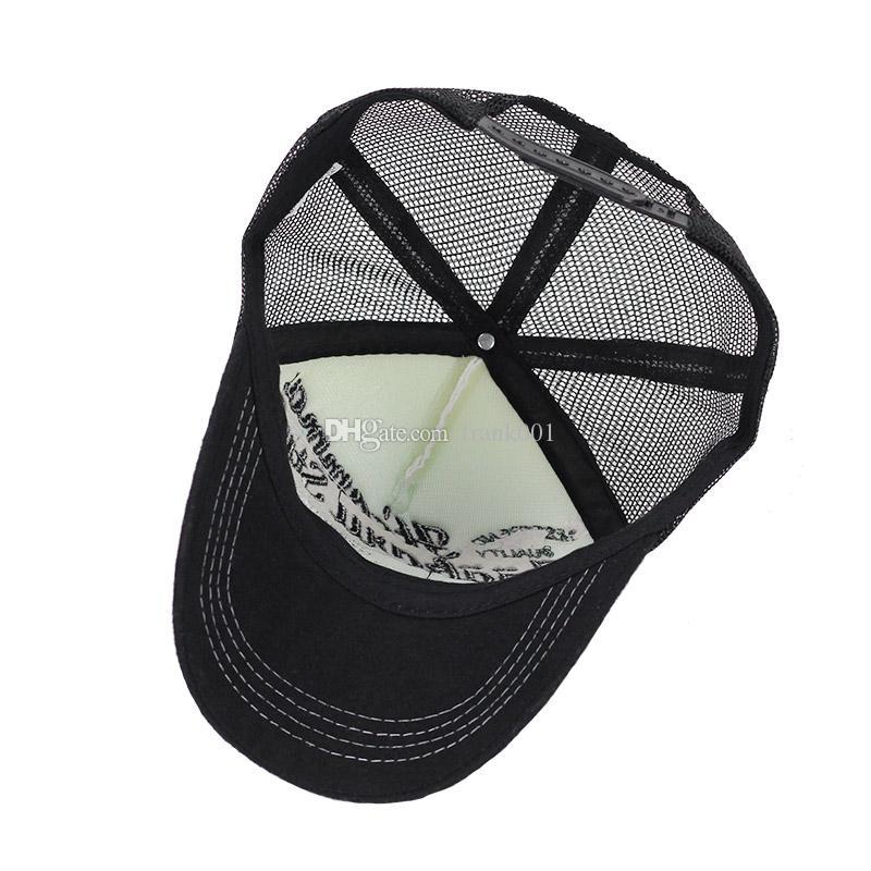 캐주얼 유니섹스 메쉬 야구 모자 여름 카스 켓 Snapback Gorras Planas 야구 모자 남자 모자 모자 장착
