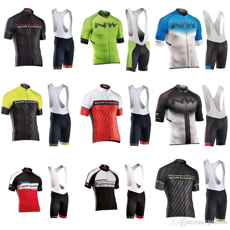 NW Cycling Short Sleeves Jersey Bib Shorts Sets 2018 Road And Mountain Bike  Kits Breathable And Quick Drying Ropa Ciclismo C3004 Bike Jerseys Padded  Cycling ... 8fc4ab41a
