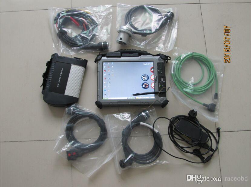 star diagnostic for mb star sd c4 with ssd fast with rugged tablet pc Xplore iX104 c5 i7