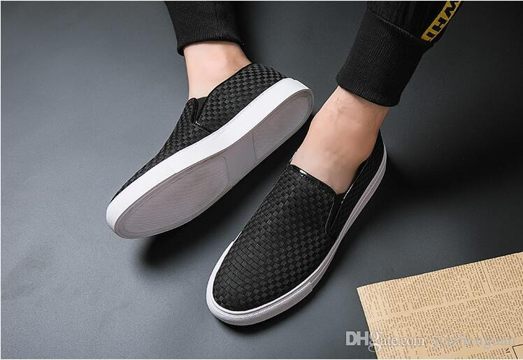 2019 Yeni stil Erkek Ayakkabı Moccasin Deri Rahat Sürüş Oxfords Ayakkabı Erkekler Loafer'lar Moccasins İtalyan düğün Ayakkabı M759