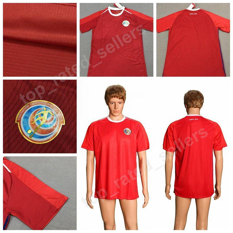 2019 Costa Rica 2018 World Cup Soccer Jerseys Thai Men 5 BORGES 10 BRYAN 12  CAMPBELL 19 WASTON Football Shirt Kits 21 URENA 7 BOLANDS 11 VENEGAS From  ... 27f42847e