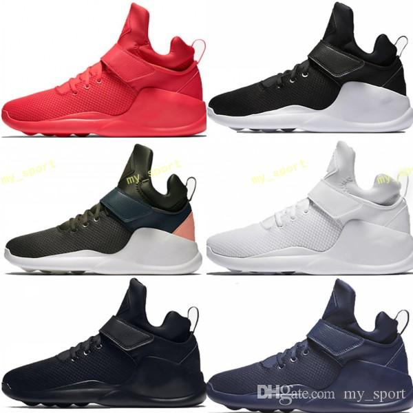 2018 Air KWAZI Action Back To The Future Shoes Women And Mens Running Shoes  Boots Sneakers Trainers Athletic Casual Sport Shoes 36 45 Best Shoes For  Running ... 5cbfcd1939
