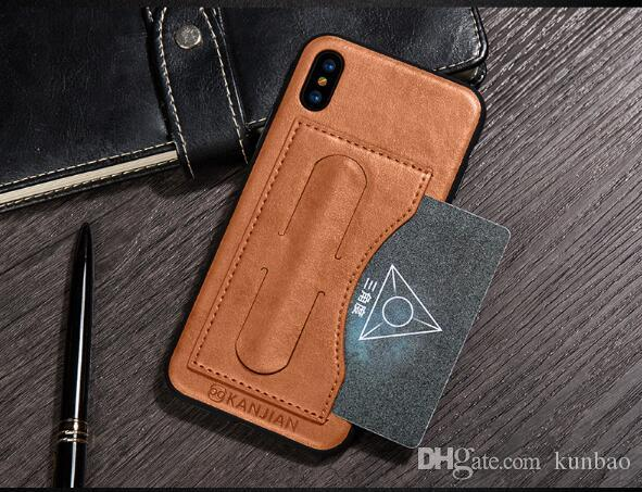 Flip Leather Wallet Case Zipper Detachable Removable Vintage Retro Phone Cover For iphone 7 6S Plus 5S