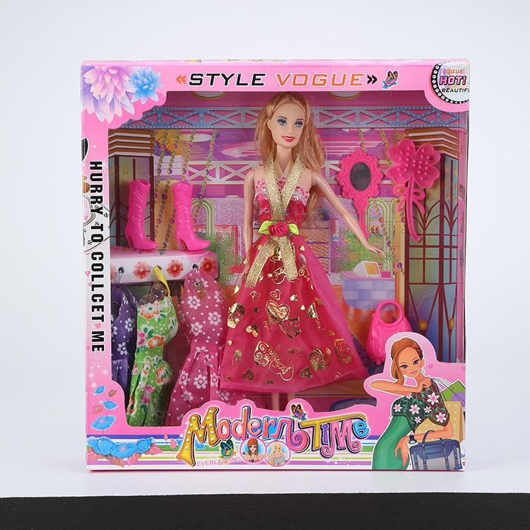 Puppen & Zubehör Barbie Birthday Princess Doll Gift Set