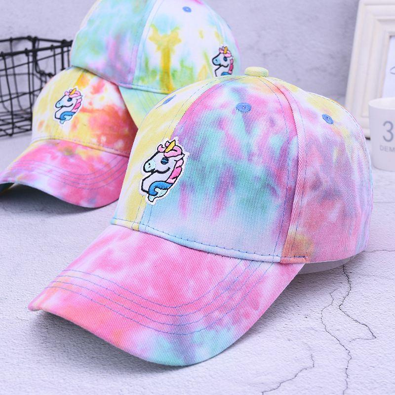 f155b929 Creative Unicorn Seven Rainbow Baseball Cap Luxury Designer Canvas  Adjustable Snapback Spring Summer Casual Hat For Men Women 13 5yj Ff Zephyr  Hats Kids ...