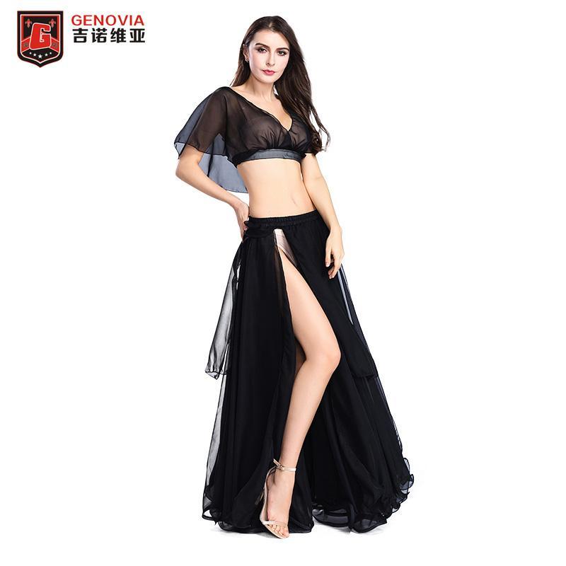 ca51baa99508 2019 11 Colour Women Performance Belly Dance Costume Blouse Top ...