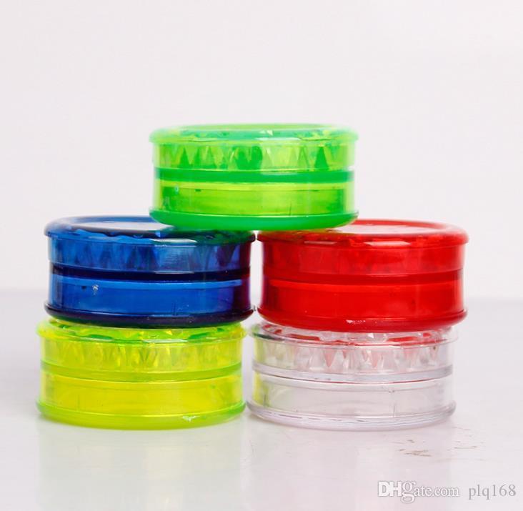 Plastik çakmak 60 mm, düz üç katmanlı TÜTÜN TAŞLAMA sigara kesici uygun