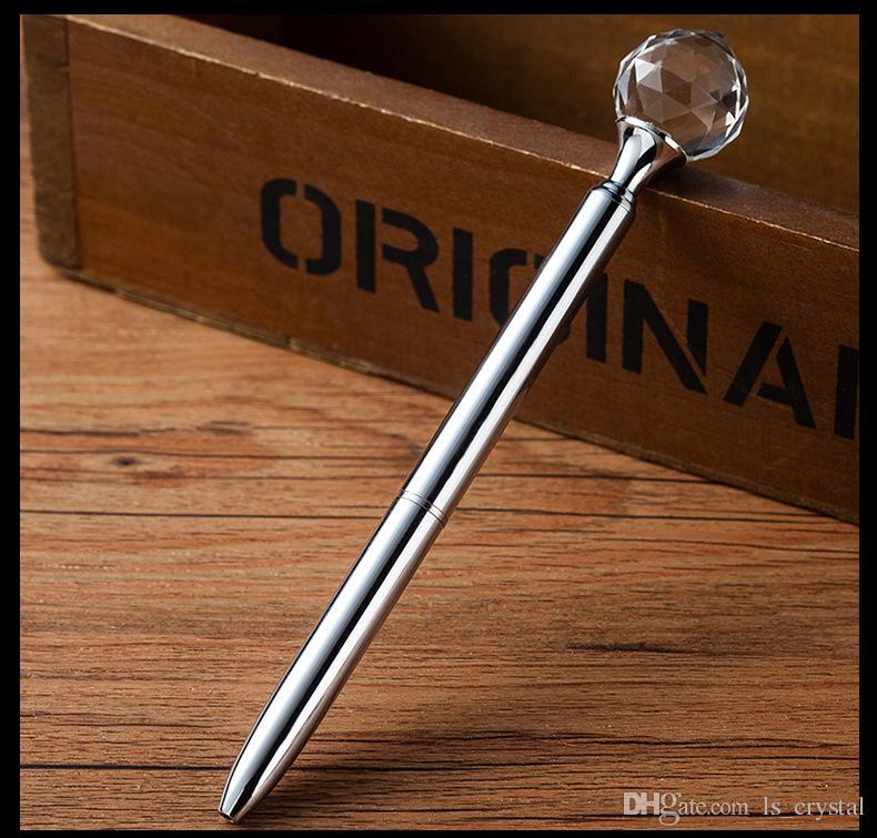 يتوهم المطر قطرة كريستال الماس قلم حبر الحبر الأسود الكرة القلم عيد عرس حزب هدية WJ017