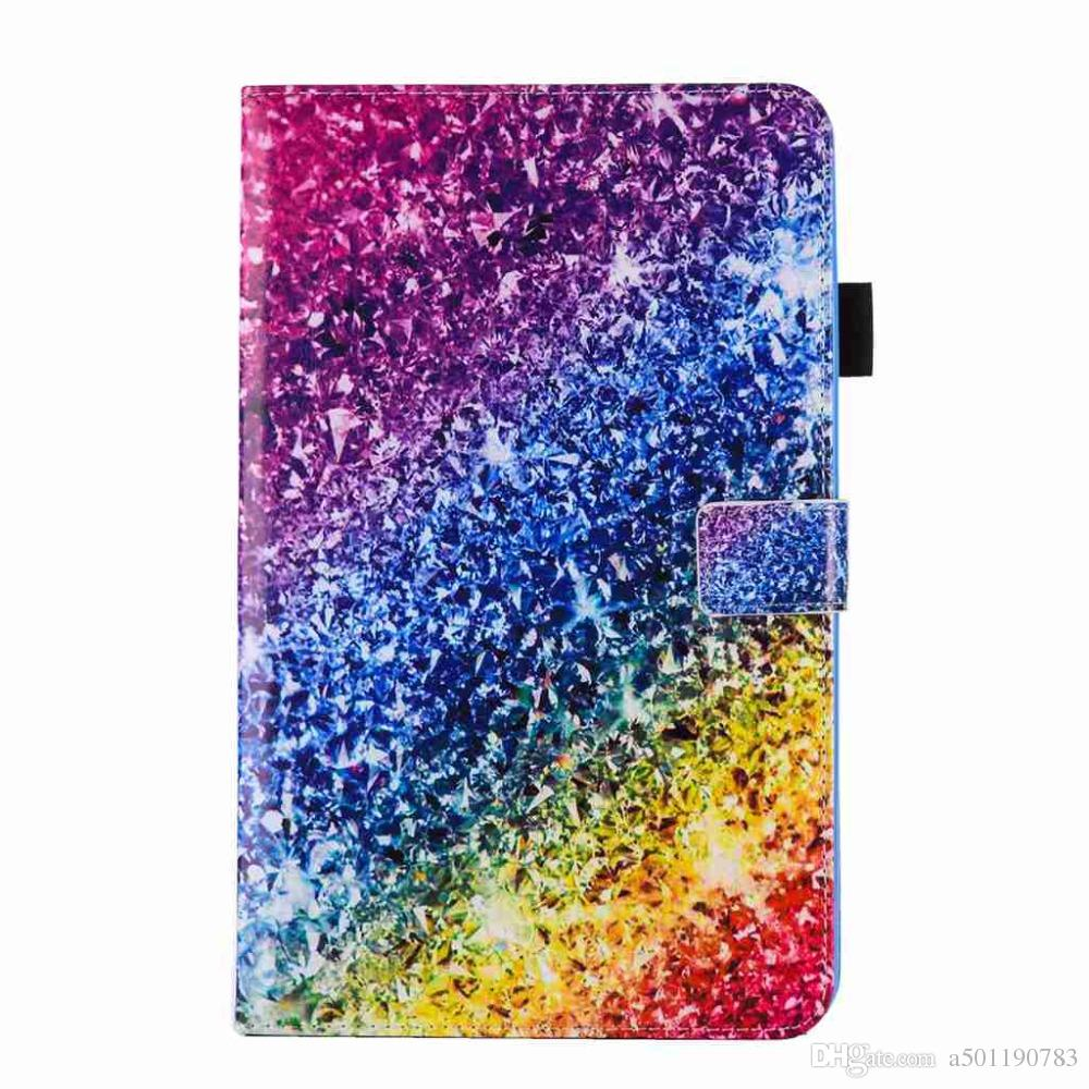 low priced e0c15 3fba2 Slim Magnetic Folding Cover For Samsung Galaxy Tab A6 10.1 SM-T580 SM-T585  Tablet Case Colour PU Leather Cover+Stylus Pen+Film.