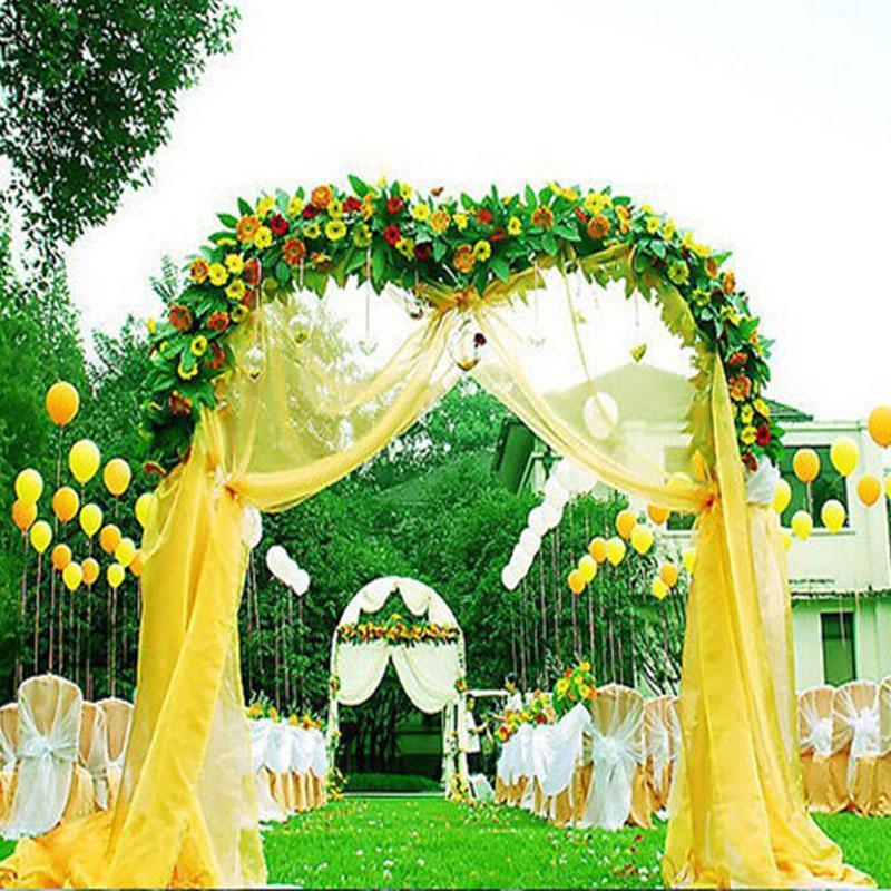 Grosshandel Hochzeit Dekoration 75 Cm Breite Sheer Spiegel Organza