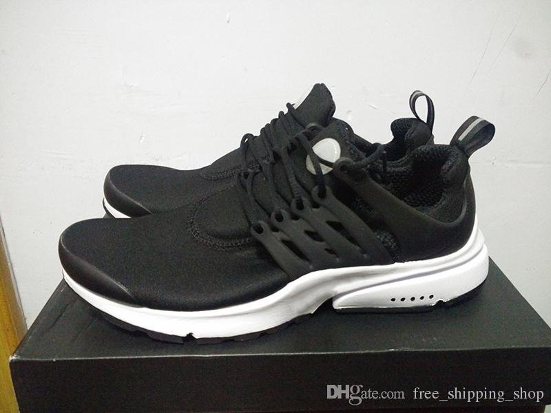 New Presto 5 BR QS Men Womens Sneaker Tripel Black White red Running Shoes mens trainer sports shoe athletic Jogging shoes size 36-45