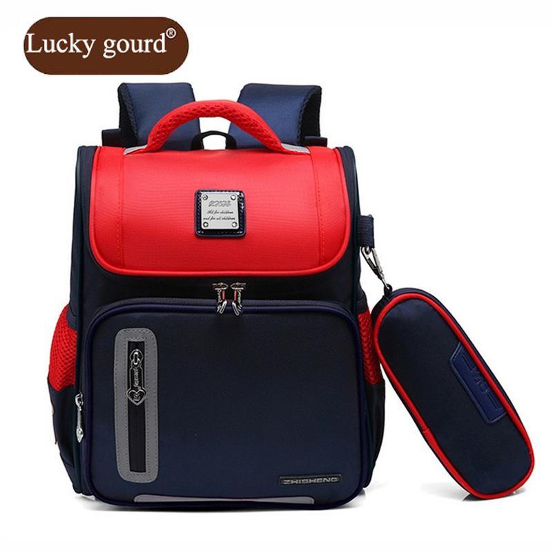 d412b0ad37 LUCKY GOURD Boy School Backpacks Classes 3 To 6 Years Of Age Girl  Waterproof Wear Resistant Nylon Children S School Bags Z921 Mens Shoulder  Bags Womens Bags ...