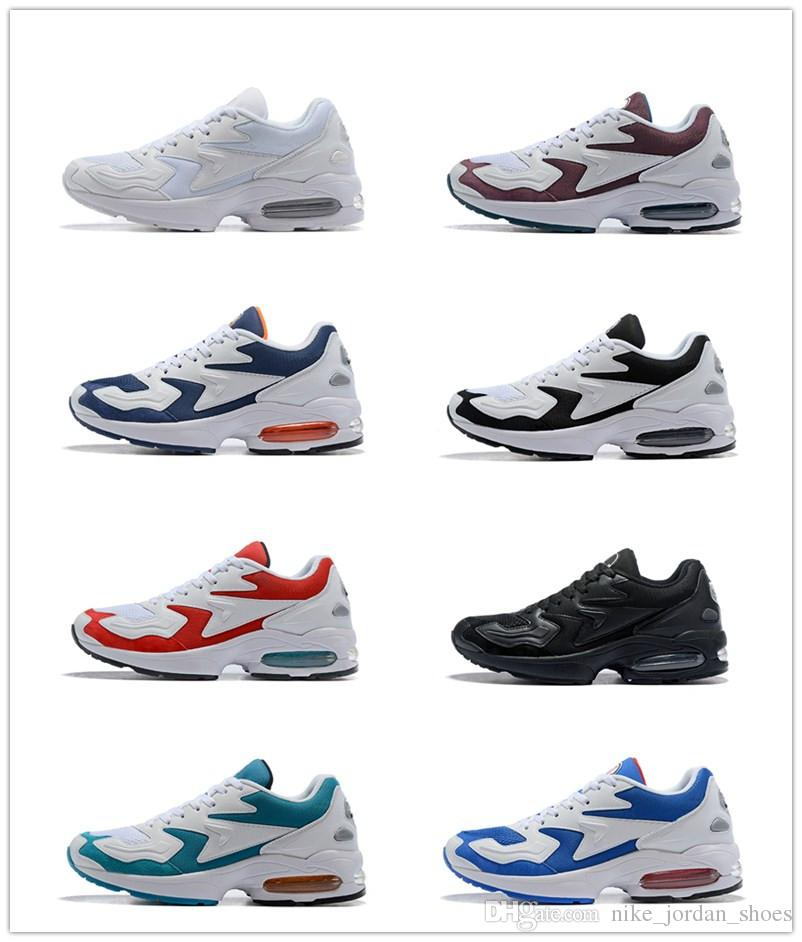 2cf82984b699 2019 Max2 Light OG Men Shoes Return In 2019 Glass Blue White Black Mens  Designer Sneakers Trainers Zapatos Sports Dad Shoes Size 7 12 From  Nike jordan shoes ...