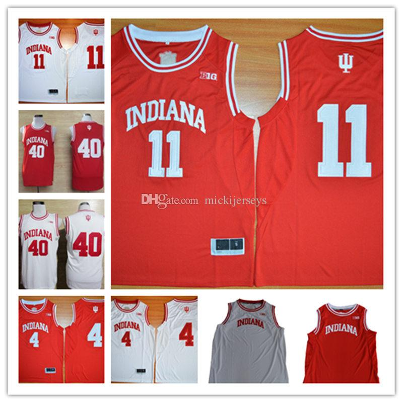 690b56a37c7 Mens NCAA Indiana Hoosiers Isiah Thomas College Basketball Jersey ...
