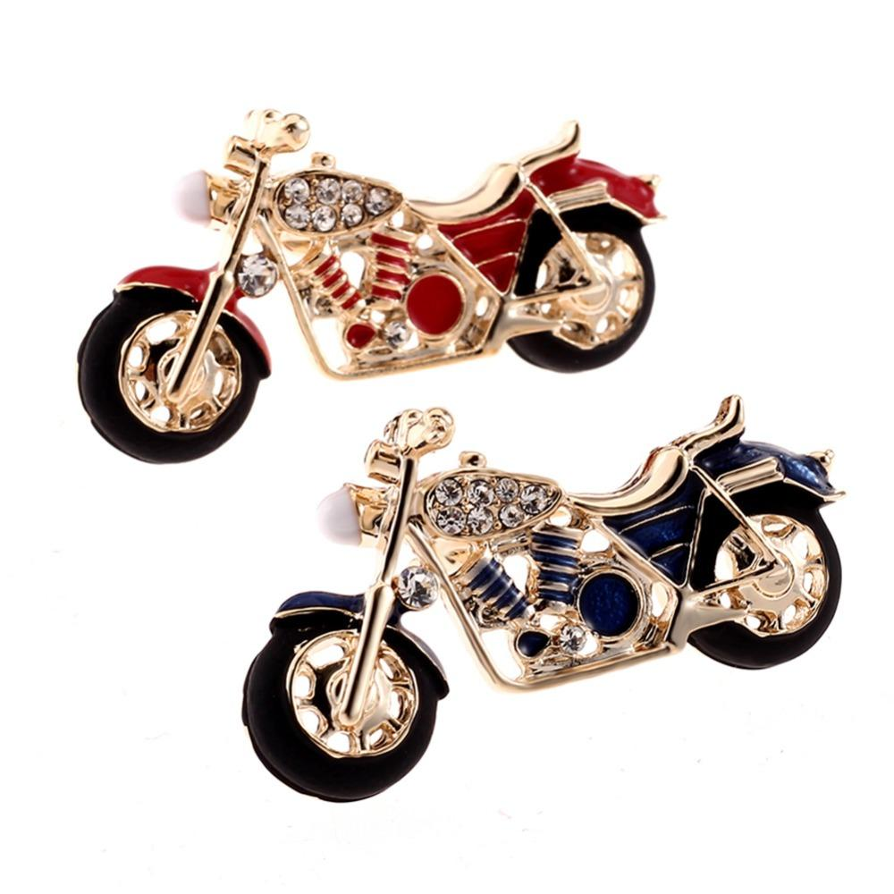 bba0247609bf7 2019 Fashion Motorcycle Brooch Gold Color Red Enamel Brooches Girls Kids  Gifts Jewelry Suit Collar Sweater Accessory Pins  275009 From Baozii