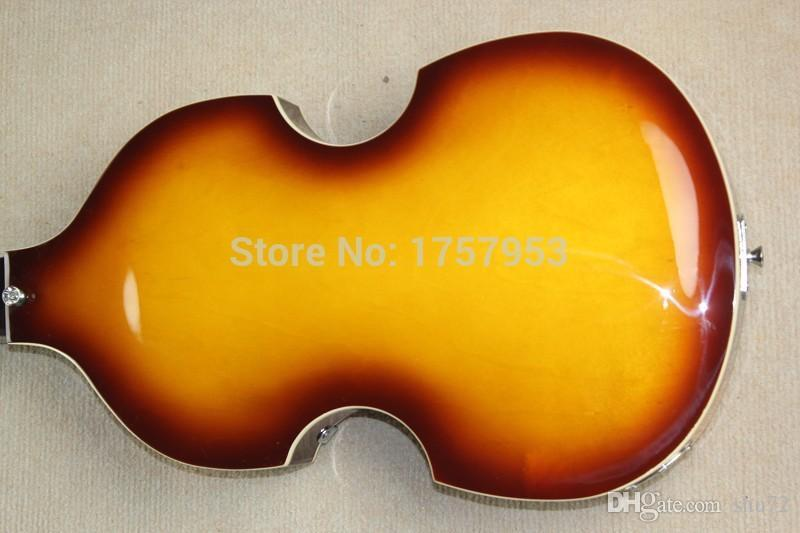 Top Quality Lower Price Hofner Icon Series Vintage Sunburst Violin Bass Electric Guitar 4 strings bass 1110