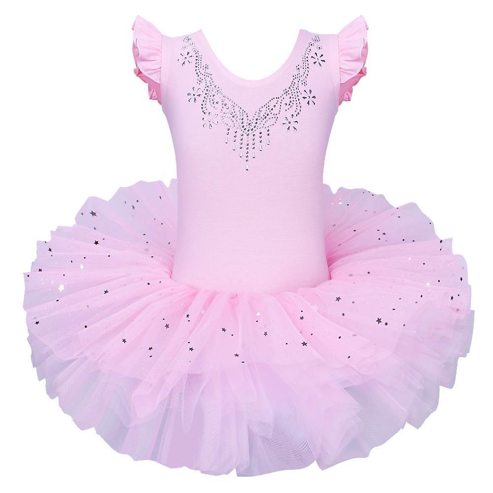 84fc738e18eb 2019 New Style Cute Girls Ballet Dress For Children Girl Dance ...
