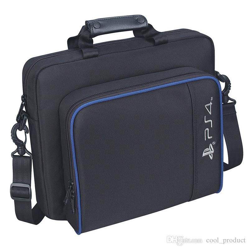 PS4 Slim Game Sytem Bag Funda de lona Proteger Hombro Bolsa de mano Bolso Tamaño original para PlayStation 4 PS4 Pro Console