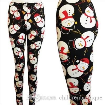 f9248d60f8613f Mother And Me Matching Clothes Mother And Daughter Legging Pants Kids Girls  Christmas Snowman Trees Printed Pants Family Matching Outfits Mom And Baby  ...