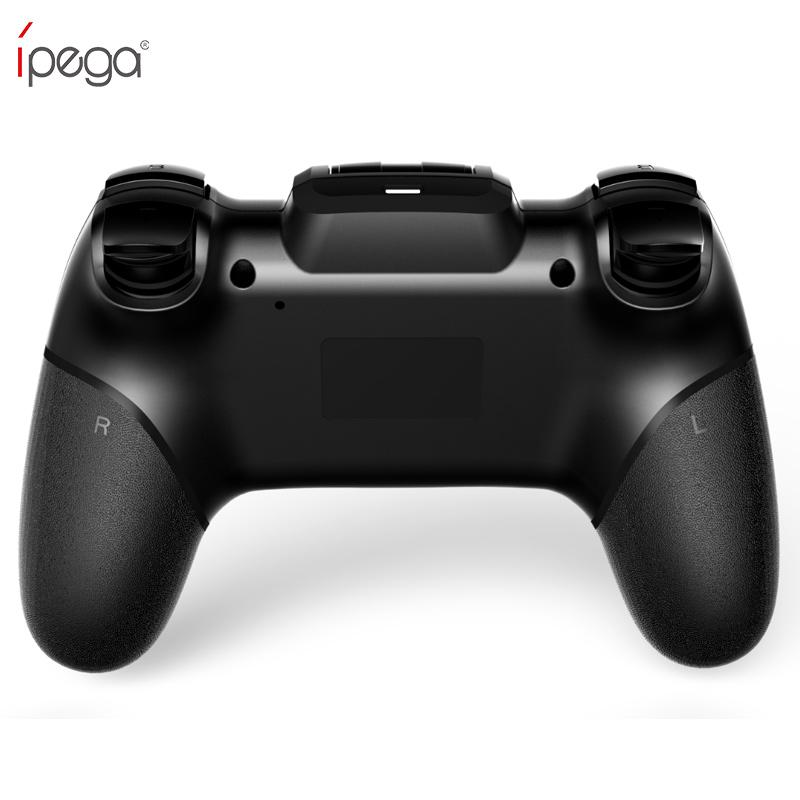 Controlador inalámbrico gamepad gamepad Gamepad iPega PG con joystick TURBO para Android / iOS Tablet PC Celular TV Box
