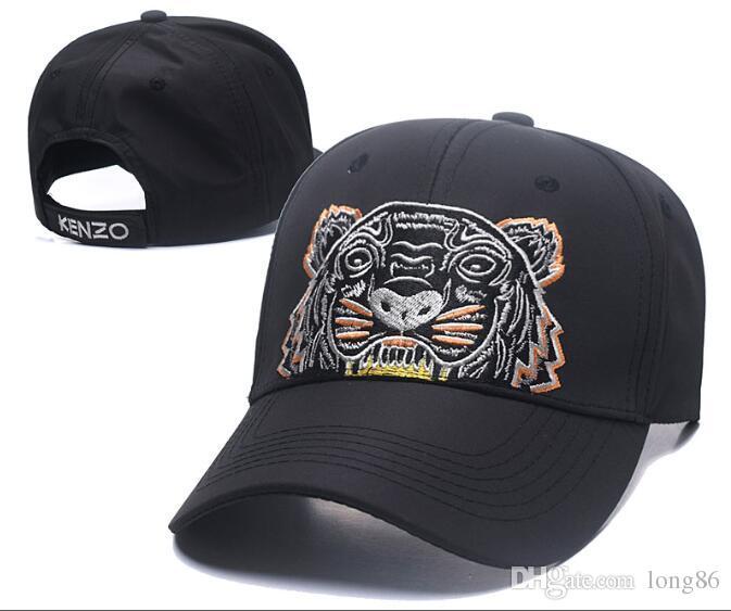 2018 Designer Mens Baseball Caps New Brand Tiger Head Hats Gold Embroidered  Bone Men Women Casquette Sun Hat Gorras Sports Cap Drop Shipping Custom Hats  ... 25e080a0189
