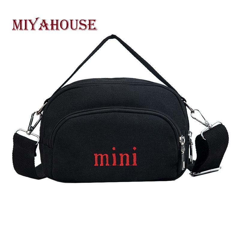 Miyahouse Fashion Letter Design Crossbody Bag Casual Lady Messenger ... 16e7a1098b33