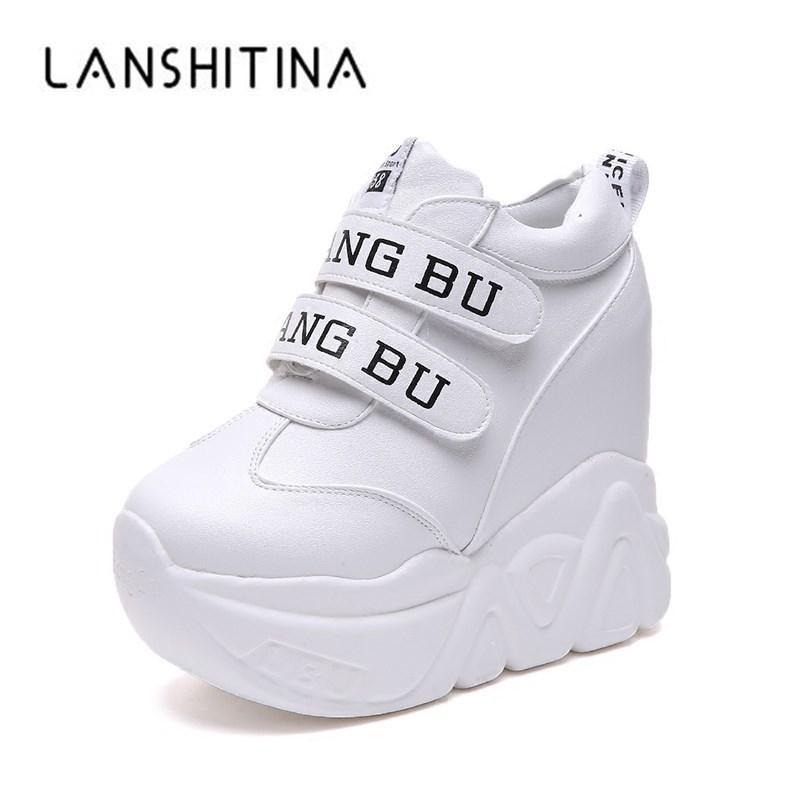330f21c4c36c 2019 Casual Hot Sale 2018 High Heel Wedges Platform Sneakers 11CM ...