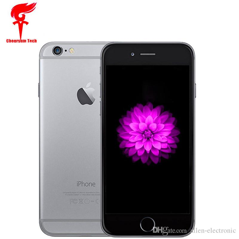 refurbished Unlocked Apple iPhone 6 Plus Cell Phone 4.7''5.5''IPS 1GB RAM 16/64 ROM iPhone 6 iphone 6 Plus Mobile phone 1pc free shipping