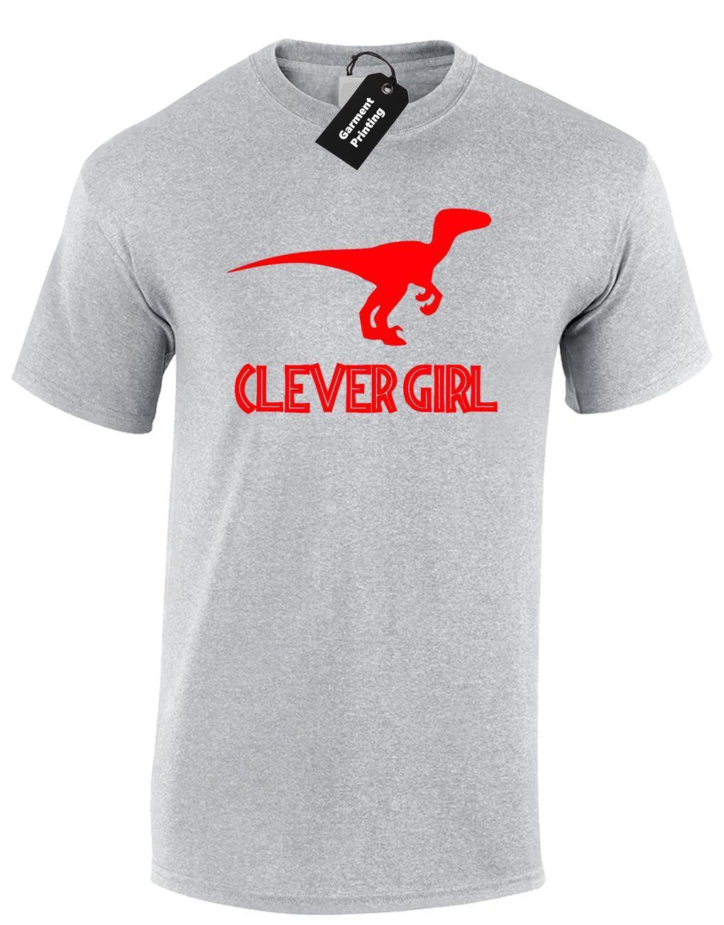 1240f15d3 CLEVER GIRL MENS T SHIRT COOL DINOSAUR JURASSIC RAPTOR PARK DESIGN RETRO  FILM Tee Shirts Mens T Shirts From Lijian19, $12.08  DHgate.Com